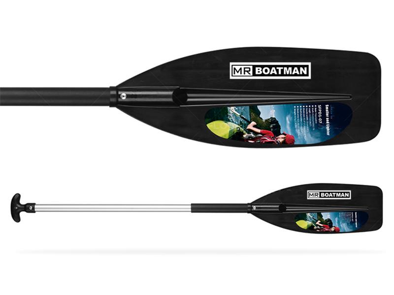 Adult one blade kayak paddle
