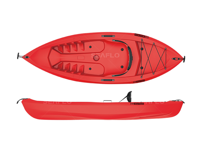 Blow-Molded Kayak