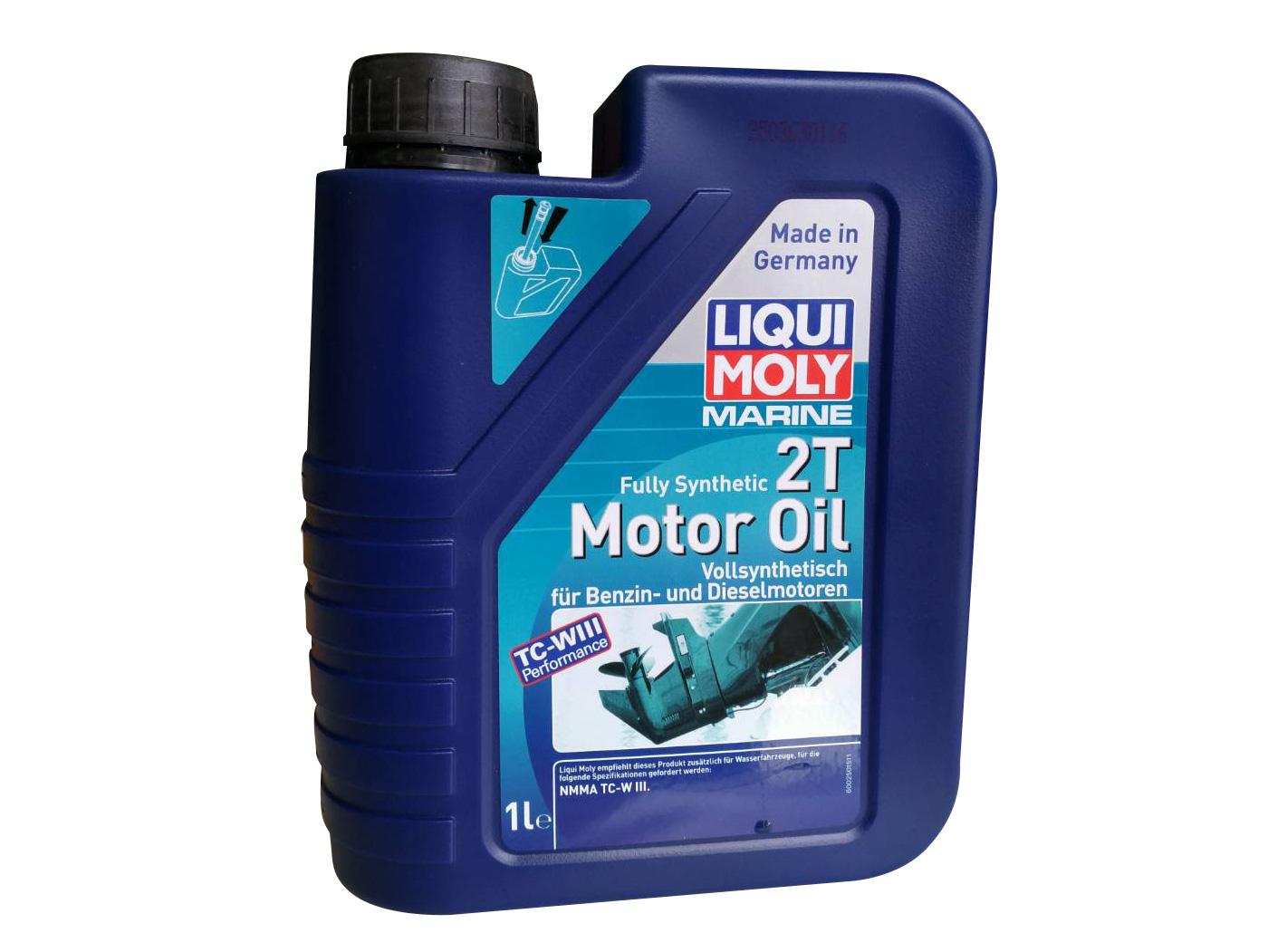 LIQI MOLY 2T MOTOR OIL